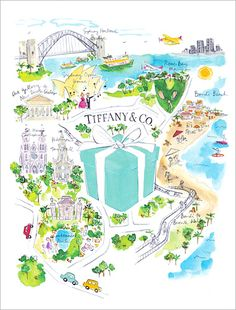 Very cool ad by Tiffany & Co. - Now in the Heart of Bondi Junction   Australia