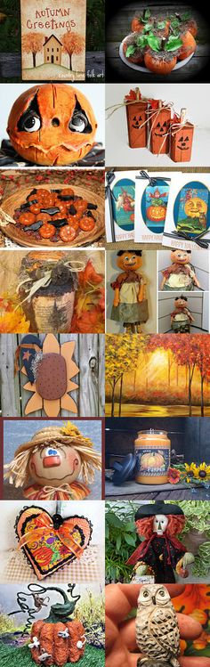 Autumn Greetings! by Sarah on Etsy--Pinned with TreasuryPin.com
