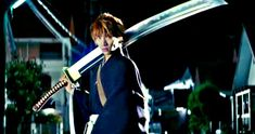 Live-Action Bleach Trailer Brings the Iconic Manga to the Big Screen -- Warner Bros. has released the first teaser trailer for the live-action adaptation of Bleach, which arrives this summer. -- http://movieweb.com/bleach-movie-trailer-live-action-manga/