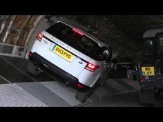 Range Rover Sport Boeing 747 Challenge   Land Rover USA - YouTube