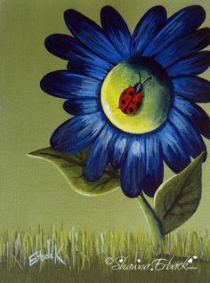 ladybug painting shawna erback