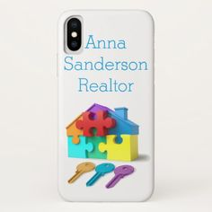 Real Estate Realtor estate agent New Home iPhone X Case - real estate gifts business cyo diy customize