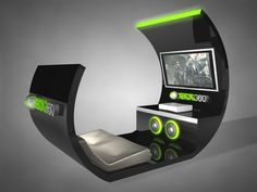 I will need one of these sweet XBOX360 Console booths in my XBOX 360 Dream Room!