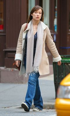 Olivia Wilde's casual style