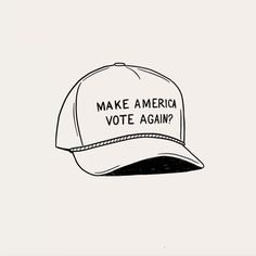 Make America Vote Again illustration