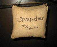 Lavender sachet...
