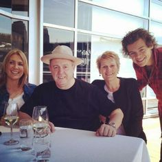 Harry with his dad in Sydney