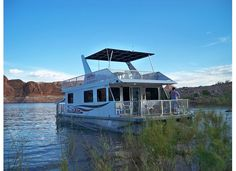 Houseboat in the cove