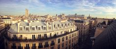 South East view from Chatelet 7th floor