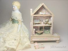 For Penny  Doll's Dollhouse Cottage Playroom Toy 144