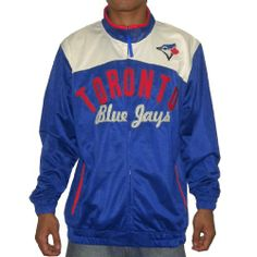 MLB Toronto Blue Jays Mens Athletic Zip-Up Pro Team Jacket with Logo Large Royal Blue 100% Authentic MLB merchandise, satisfaction guaranteed. Extremely high quality fabric: 100% professional quality sports polyester; Machine washable. Team logo embroidered at front; Two hand pockets for storage and style. Elastic cuffs and hemline snug up the fit and create a cozy feel against your skin. Great sw... #MLB #Apparel