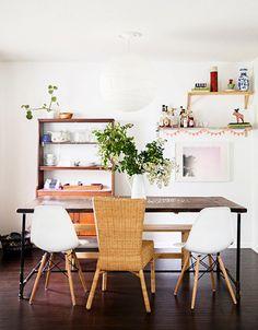 5 Times IKEA Looked Deceptively Elegant via @mydomaine- The single exact Harola chair looks smart and rustic elegant!