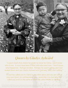Gladys Aylward - setapartgirl.com