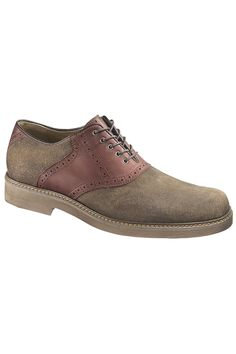 Washed Suede Shoe