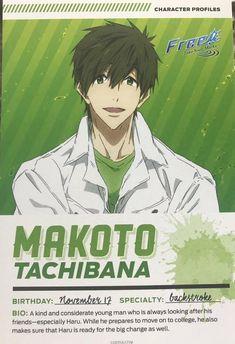 Makoto Take Your Marks Makoto Tachibana, Makoharu, Otaku Issues, Good Anime Series, Free Characters, Splash Free, Free Eternal Summer, Free Iwatobi Swim Club, Handsome Anime Guys