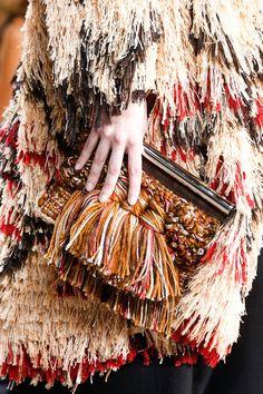 Proenza Schouler | Spring 2014 Ready-to-Wear Collection | Style.com #crochetbag #crochet