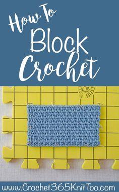How to Block Crochet Work - Crochet 365 Knit Too Crochet Blocks, Crochet Squares, Crochet Blanket Patterns, Crochet Granny, Knitting Patterns, Diy Crochet Blocking Board, Crochet Blankets, Granny Squares, Free Knitting