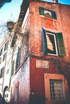 Trastevere district, Rome.