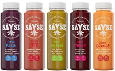 #Plastic #packaging for Savse Smoothies, a wholesome line of freshly squeezed beverages with a unique story.