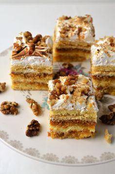 Prajitura Petre Roman - Retete culinare by Teo's Kitchen Eat Dessert First, Something Sweet, Tiramisu, Roman, Caramel, French Toast, Gluten, Sweets, Homemade
