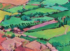 Anne Laddon, Acrylic Field Study