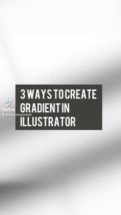 Check out 3 ways you can create that gradient in adobe illustrator. Graphic Design Lessons, Graphic Design Trends, Graphic Design Tutorials, Graphic Design Posters, Graphic Design Illustration, Graphic Design Inspiration, Inkscape Tutorials, Ps Tutorials, Tool Design