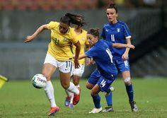 Blog Esportivo do Suíço:  Seleção feminina bate Itália e joga final do Torneio de Manaus com a vantagem