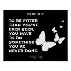 Butterflies of Fitness Motivation: Black White 005