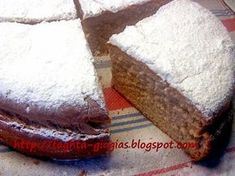 Greek Cake, Chicken Carbonara Recipe, The Kitchen Food Network, Greek Sweets, Fat Free Milk, Substitute For Egg, Food Gallery, Greek Recipes, Soul Food