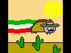 Taco Cat! It's really, really, REALLY dumb....but I think I just like it because of the silly music.