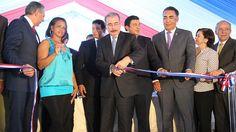 Presidente entrega en La Vega 208 viviendas, obras viales y rehabilitación redes