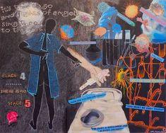 Original Performing Arts Collage by Chery Holmes Collage Art, Art Collages, Mixed Media Techniques, Sick Kids, Medium Art, Saatchi Art, Fine Art, Glitch Art, Artist