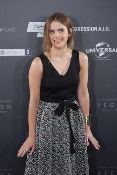 Emma Watson during 'REGRESSION' PHOTOCALL AT VILLAMAGNA HOTEL, MADRID (27TH JULY 2015)