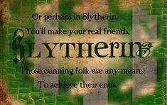 Slytherin collage by Dhesia on DeviantArt
