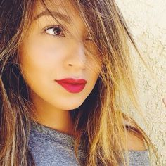 Red lip.#sincerelyjules