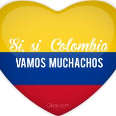 Hoy juega la Seleccion Colombia!!!  #VamosColombia #tricolor #SeleccionColombia #COL Colombian Girls, Amai, Art Lessons, Athletes, Country, Sports, The Selection, Kitty, Hipster Stuff