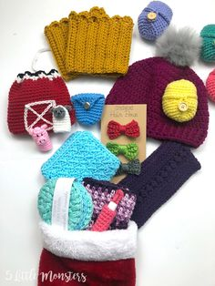 5 Little Monsters: Quick and Easy Crocheted Boot Cuffs Crochet Boot Cuff Pattern, Crochet Patterns, Crochet Ideas, Unique Crochet, Easy Crochet, Free Crochet, Knitted Headband, Crochet Headbands, Baby Headbands