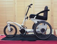 New 2012 RoTrike crossover wheelchair (Wheelchair on Steroids)
