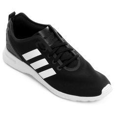Trazendo o visual dinâmico e superesportivo, o Tênis Adidas Zx Flux Smooth W Preto e Branco é a pedida certa para suas produções casuais. Permita que a leveza do calçado faça parte do seu estilo no dia a dia.   Netshoes