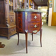 19th Century French Antique Louis XVI Style Commode . Click on the image for more information.