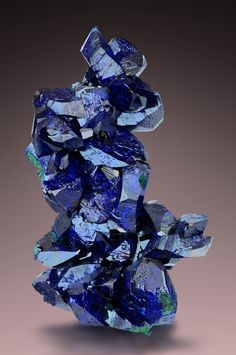 Azurite - Milpillas Mine, Cuitaca, Mun. de Santa Cruz, Sonora, Mexico Size: 7.3 x 4.0 x 4.1 cm
