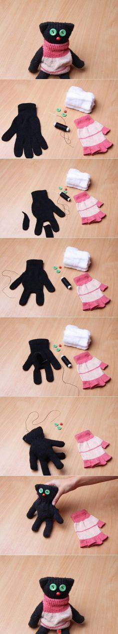 Voor de enkele handschoenen die je elk jaar overhoudt.