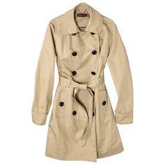 Merona® Women's Trench Coat -Assorted Colors : Target Mobile