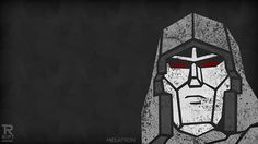 RIPT T-Shirts Megatron Wallpaper for iPhone 4 & 5, and iPad Retina