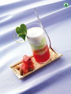 Granita di cetrioli con gelatina di anguria  |  casadivita.despar.it