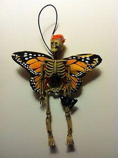 A skeleton fairy