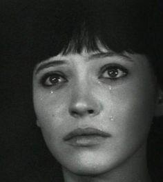 """""""Vivre sa vie"""" by Jean-Luc Godard, 1962. Anna Karina, as Nana."""