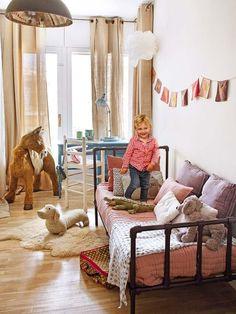 Un piso nuevo con (mucho) encanto vintage