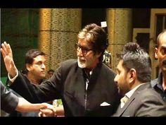 WATCH Amitabh Bachchan at Shahid Kapoor and Mira Rajput's wedding reception. See the full video at : https://youtu.be/vl1hHPftWvk #amitabhbachchan