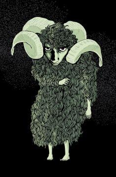 Kat Menschik Illustration for Haruki Murakami